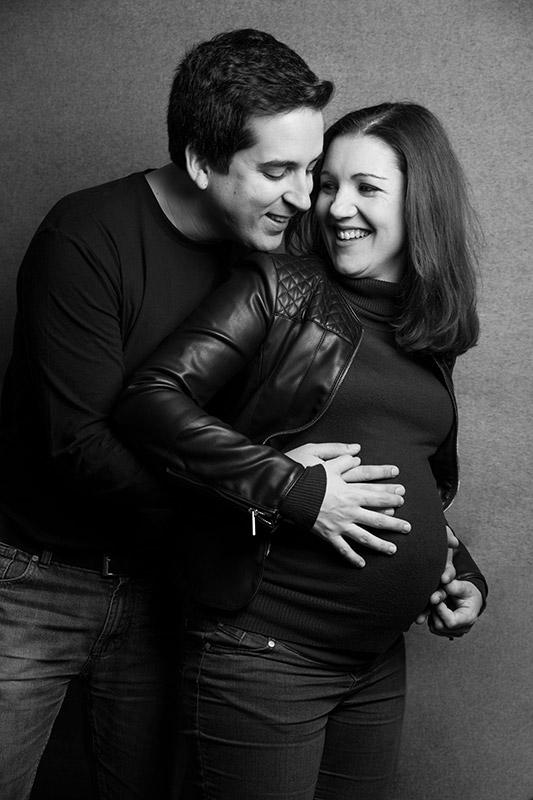 Fotos artísticas y originales de embarazada en Málaga